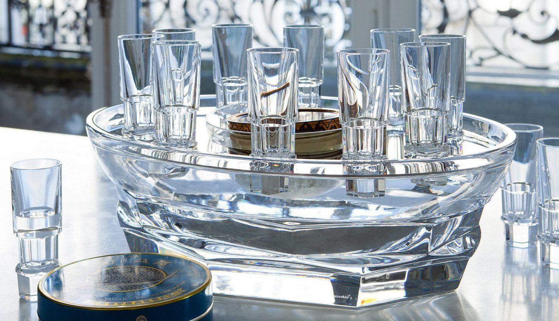 Baccarat Harcourt Abysse Caviar Set