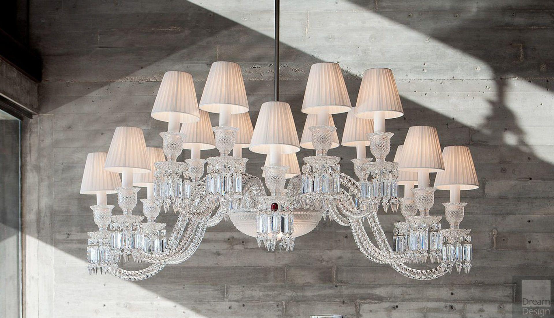 Baccarat Ellipse Chandelier (16 Lights)
