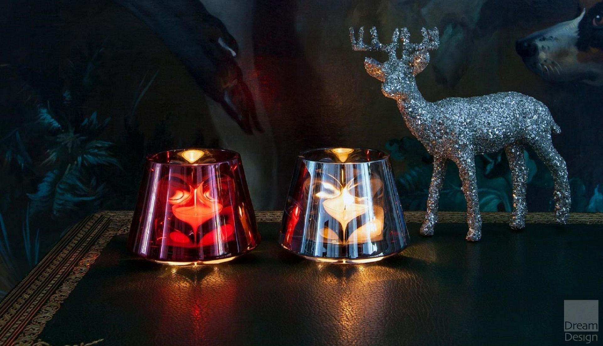 Baccarat Baby Ourfire Candle Holder