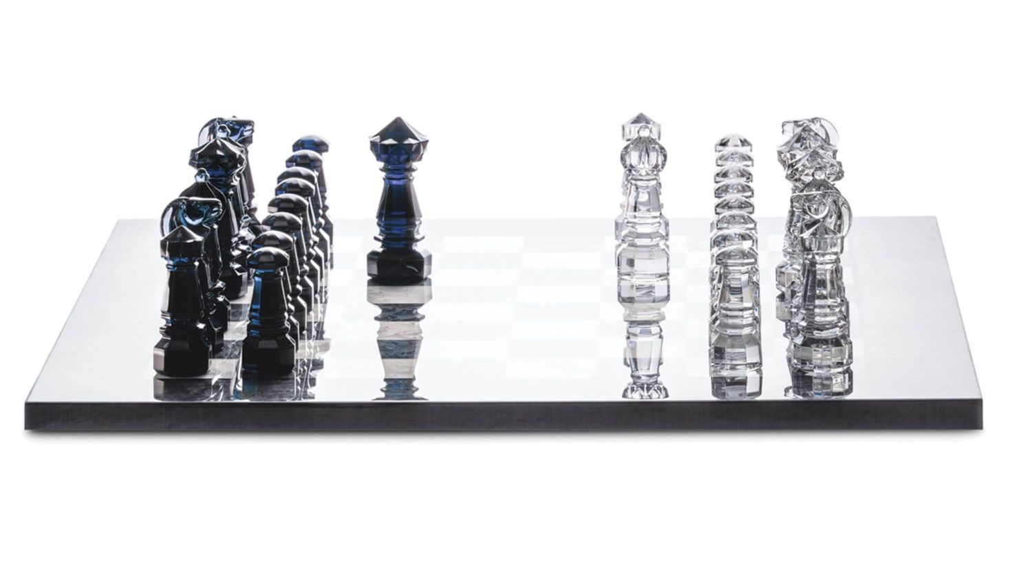 Baccarat Jeux Crystal Chess Game