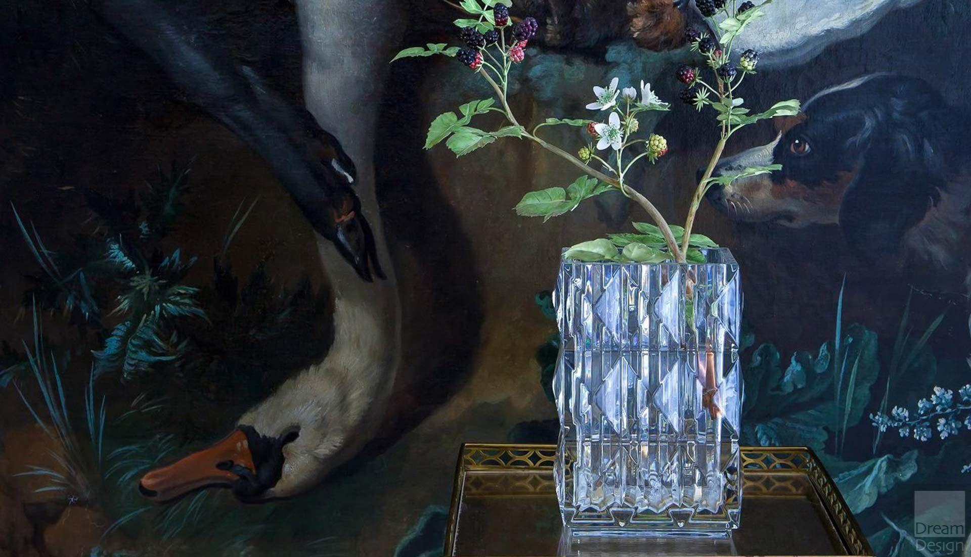 Baccarat Louxor Diamond Surface Vase