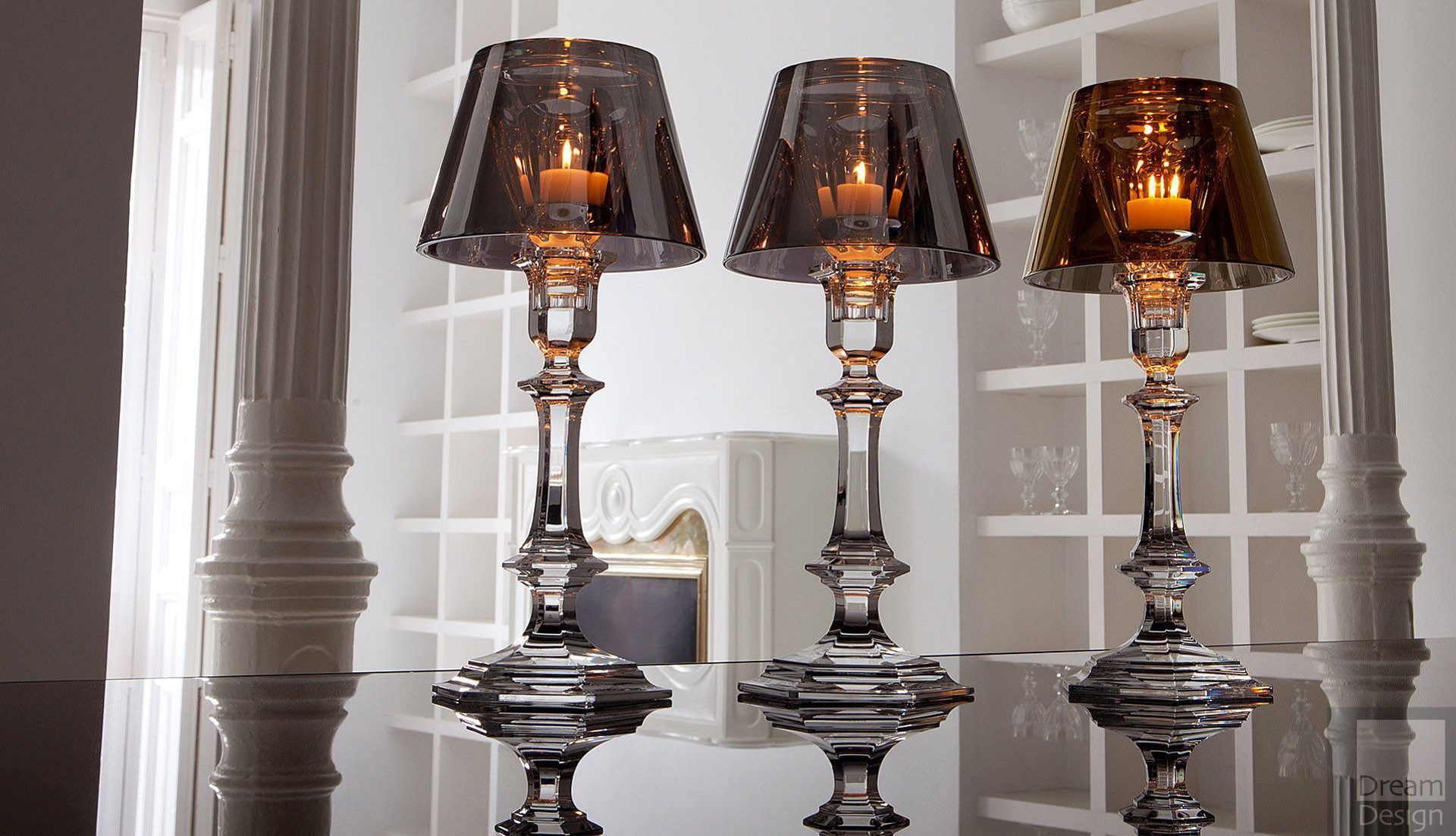 Baccarat Ourfire Candlestick