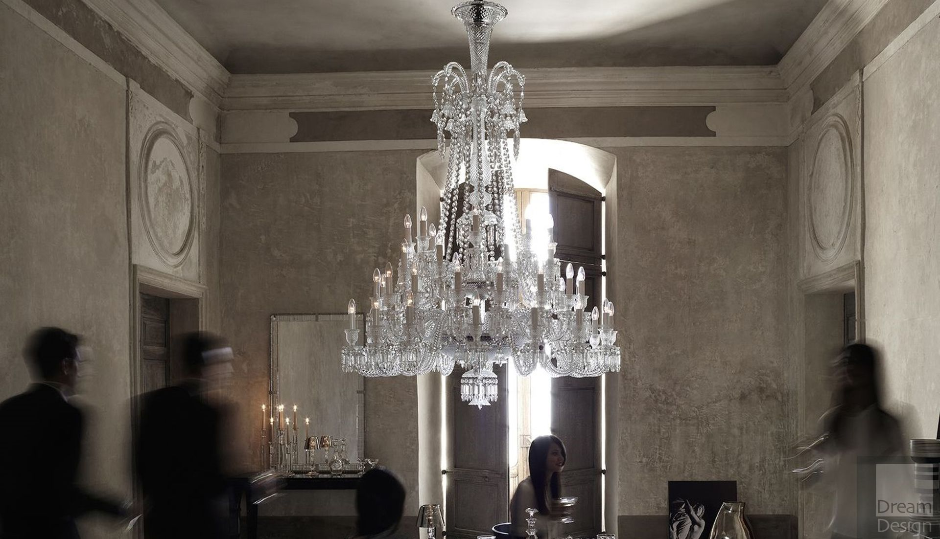 Baccarat Zenith Chandelier (48 Lights) - Everything But Ordinary