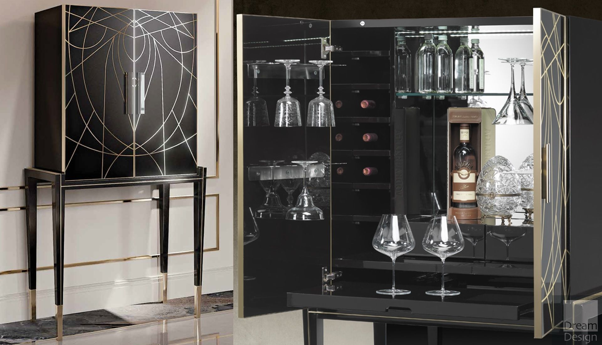 Reflex Angelo Belle Epoque Bar Cabinet Everything But