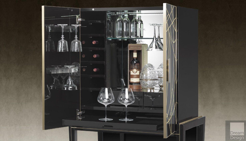 Belle Epoque Bar Cabinet
