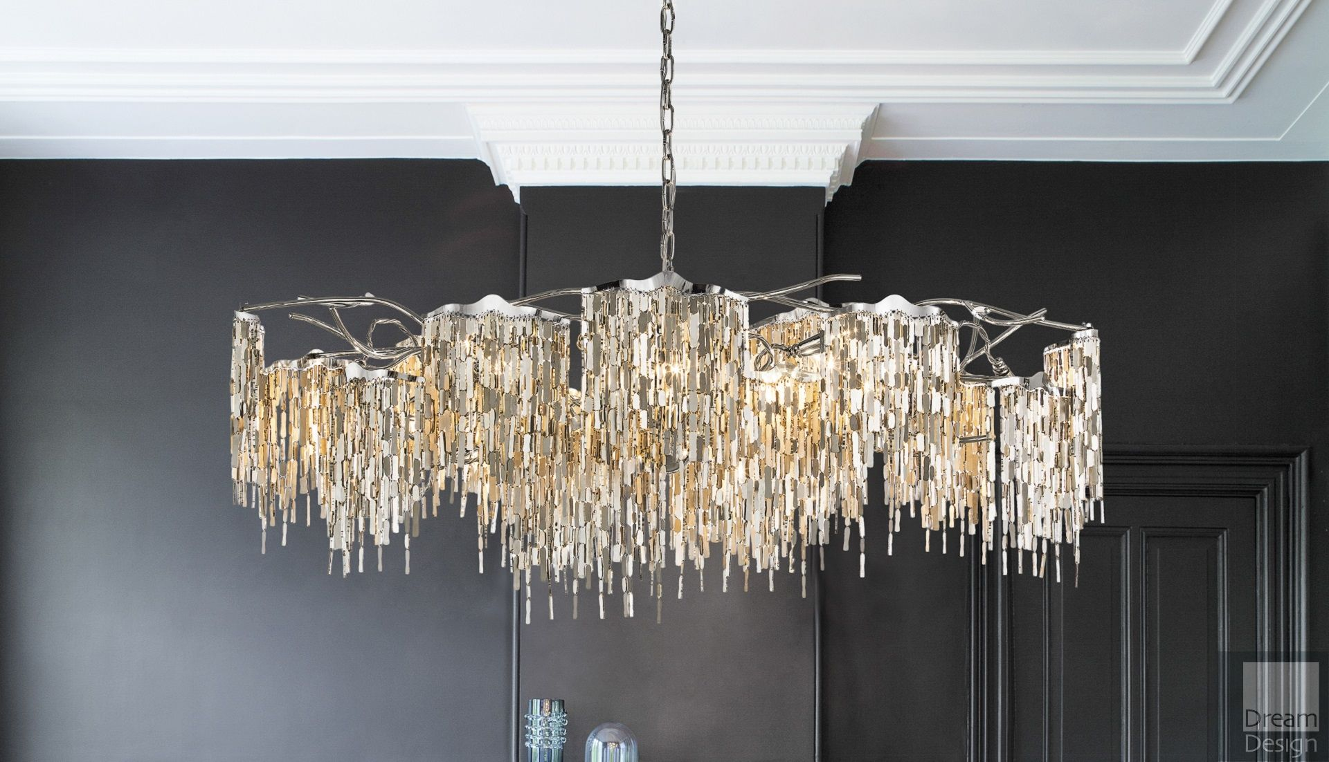 brand van egmond arthur chandelier everything but ordinary. Black Bedroom Furniture Sets. Home Design Ideas