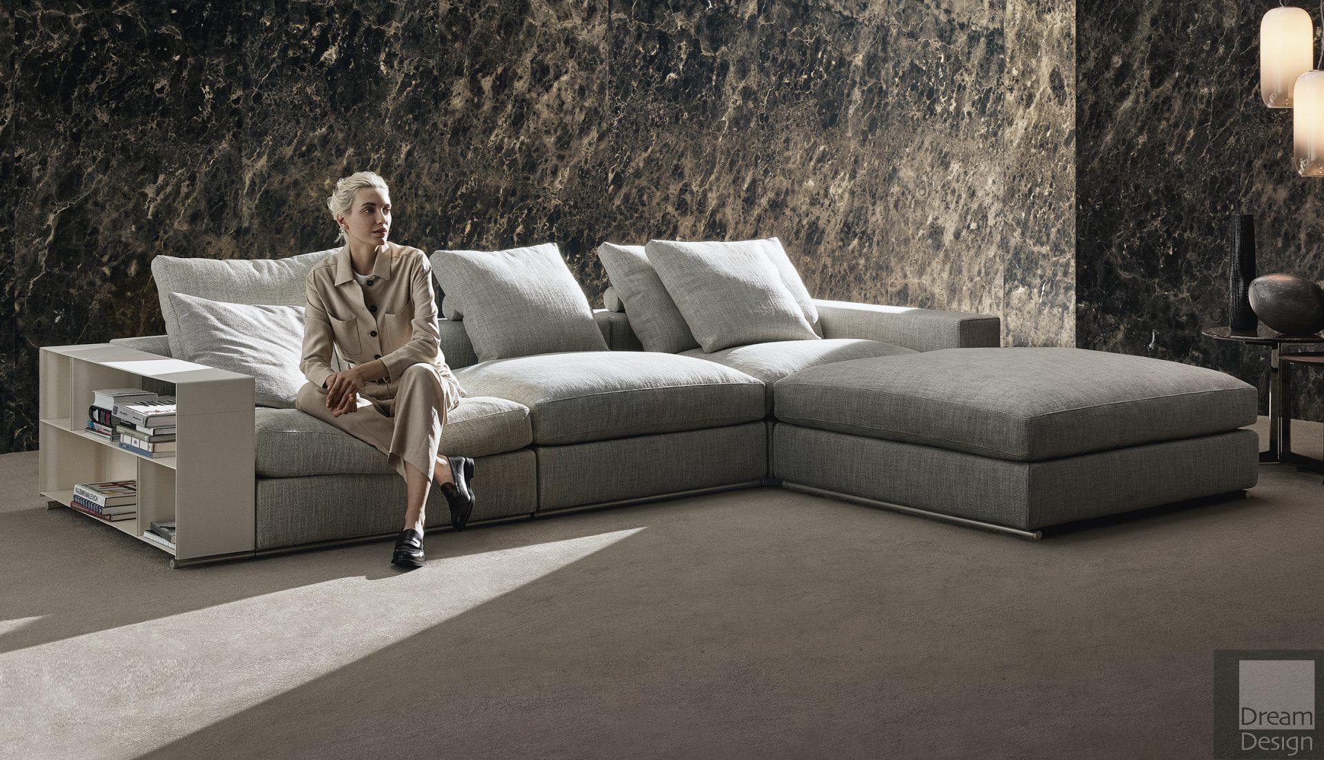 Flexform Groundpiece Corner Sofa