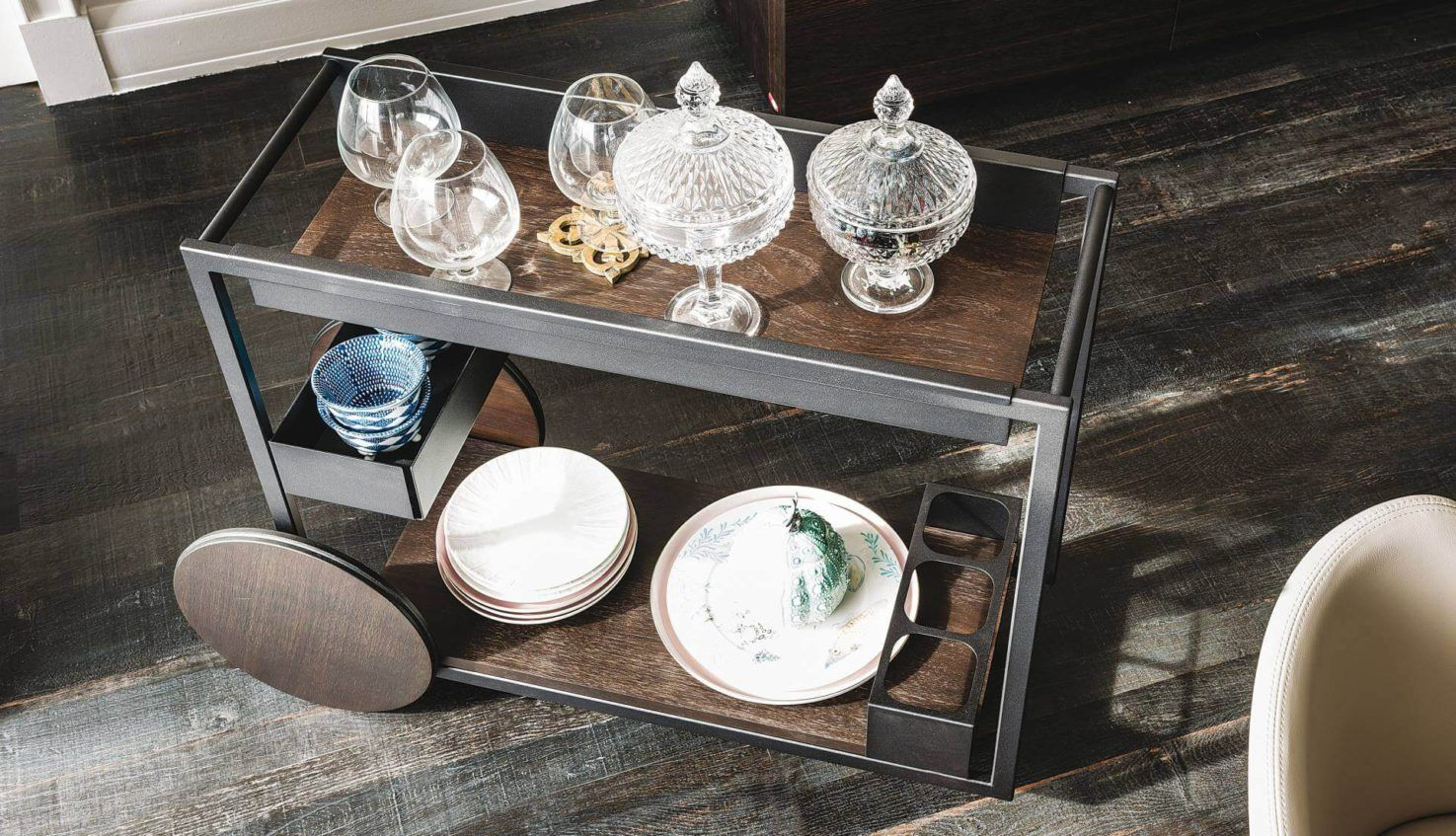 Cattelan Italia Brandy Drinks Trolley