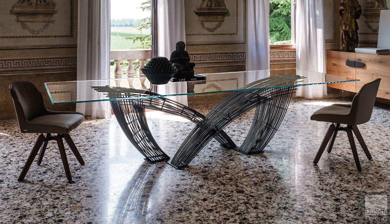 Cattelan Italia Hystrix Glass Table