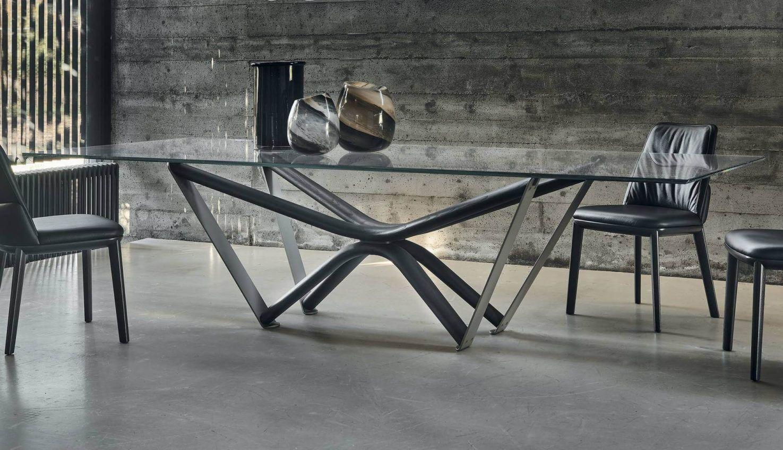 Cattelan Italia Marathon Glass Table