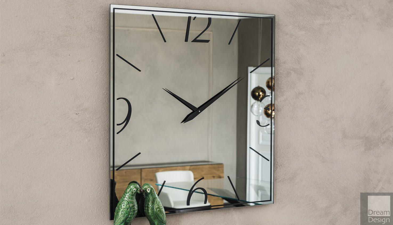 Cattelan Italia Moment Square Mirror Clock