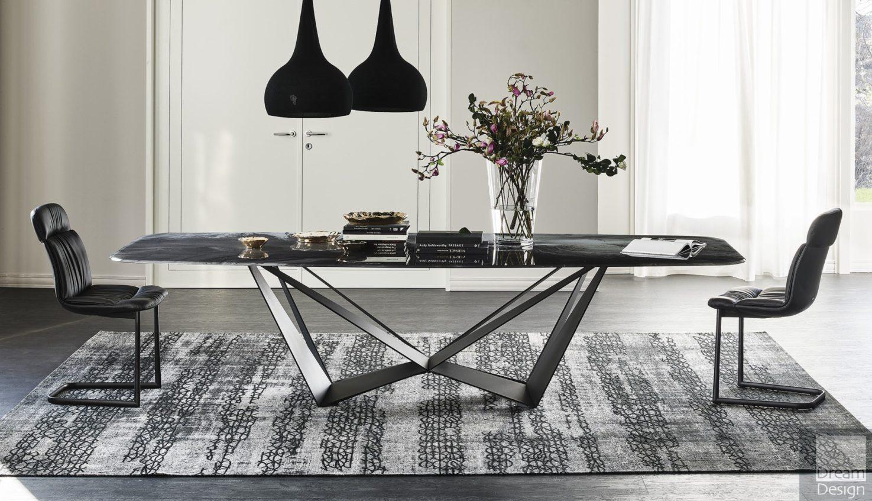 Cattelan Italia Skorpio Crystalart Table