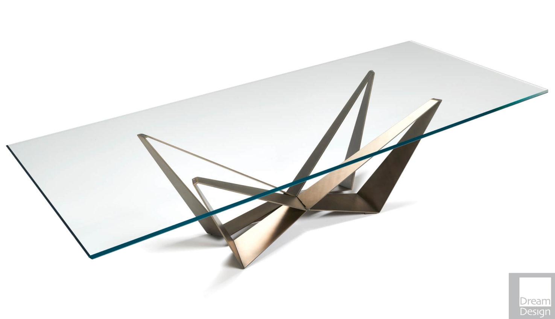 Cattelan Italia Skorpio Glass Table