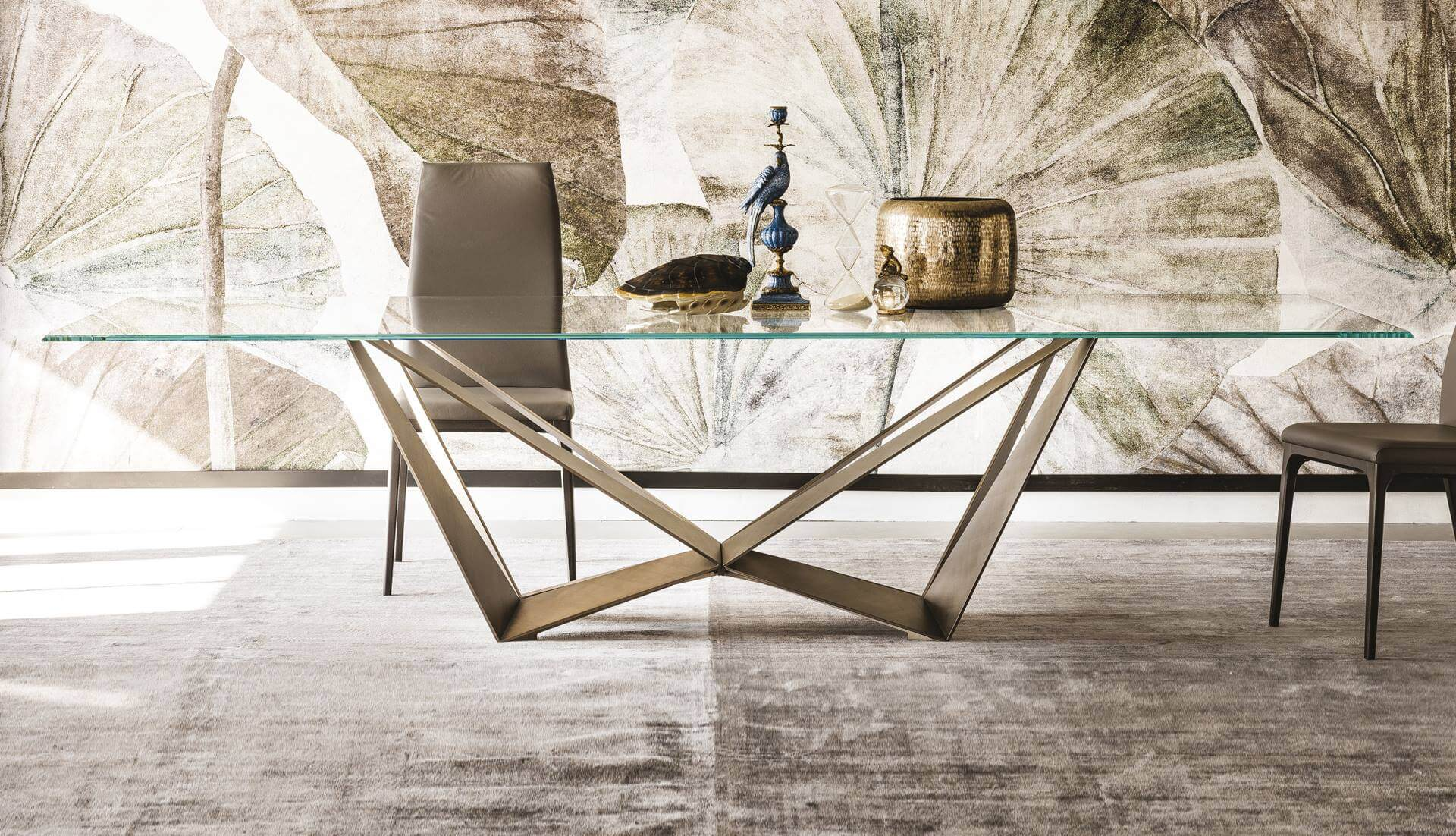 Cattelan Italia Skorpio Glass Table By Andrea Lucatello Everything But Ordinary