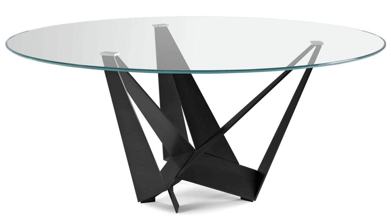 Cattelan Italia Skorpio Round Glass Table