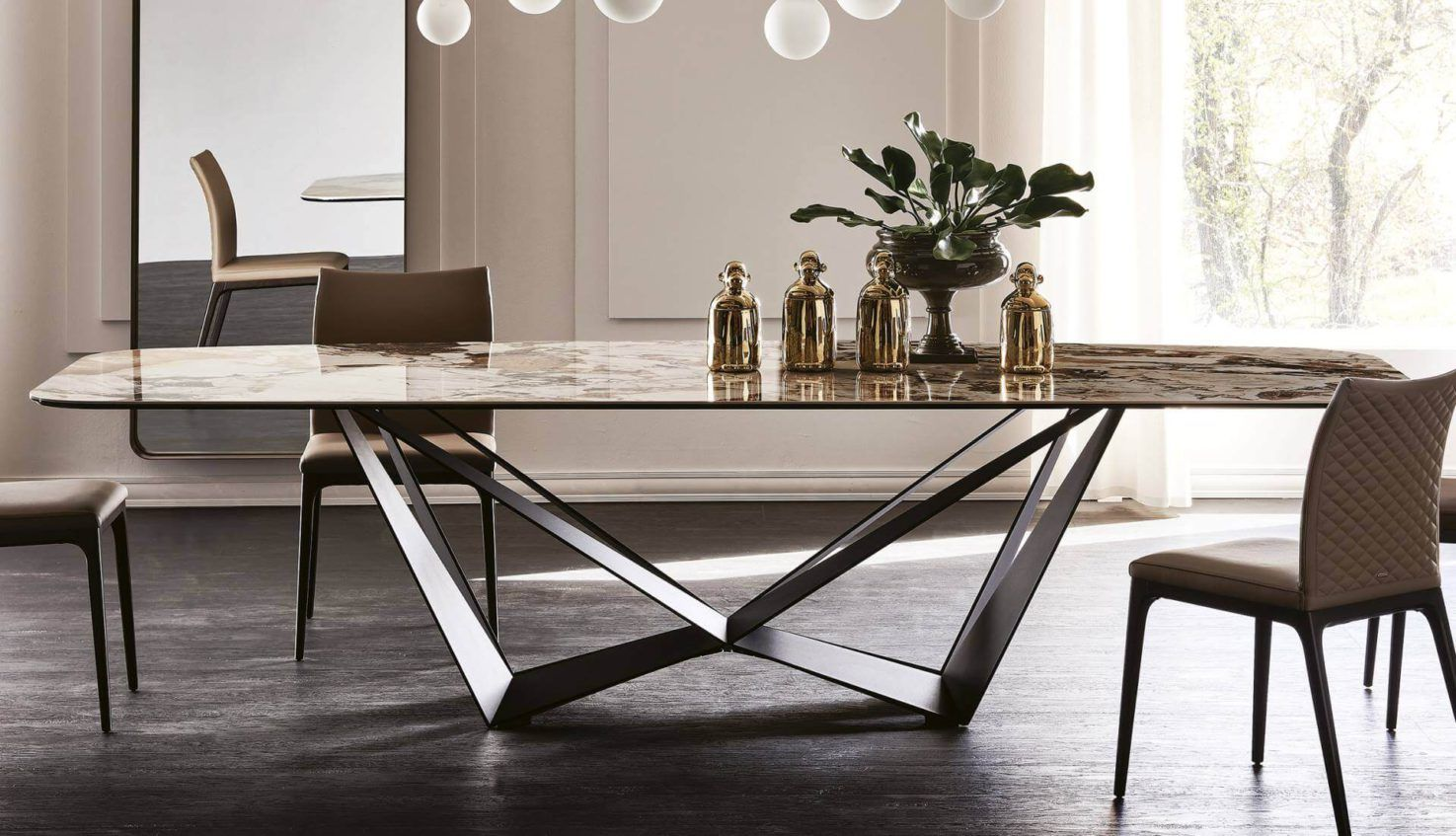 Cattelan Italia Skorpio Keramik Table