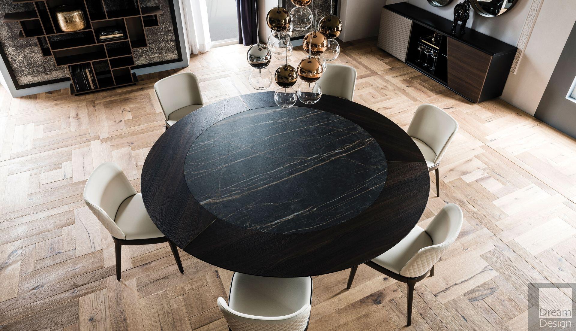 Cattelan Italia Skorpio Round Ker-Wood Table by A. Lucatello & P ...