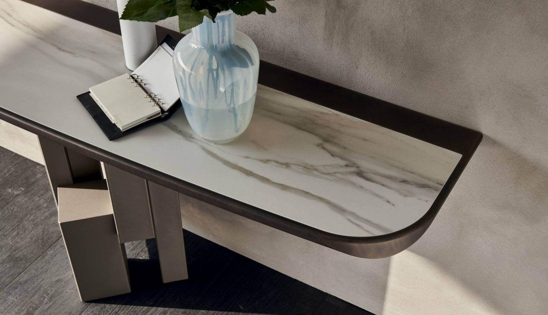 Cattelan Italia Skyline Keramik Premium Console Table