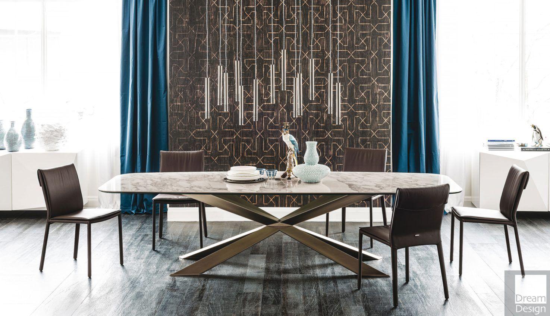 Cattelan Italia Spyder Keramik Dining Table