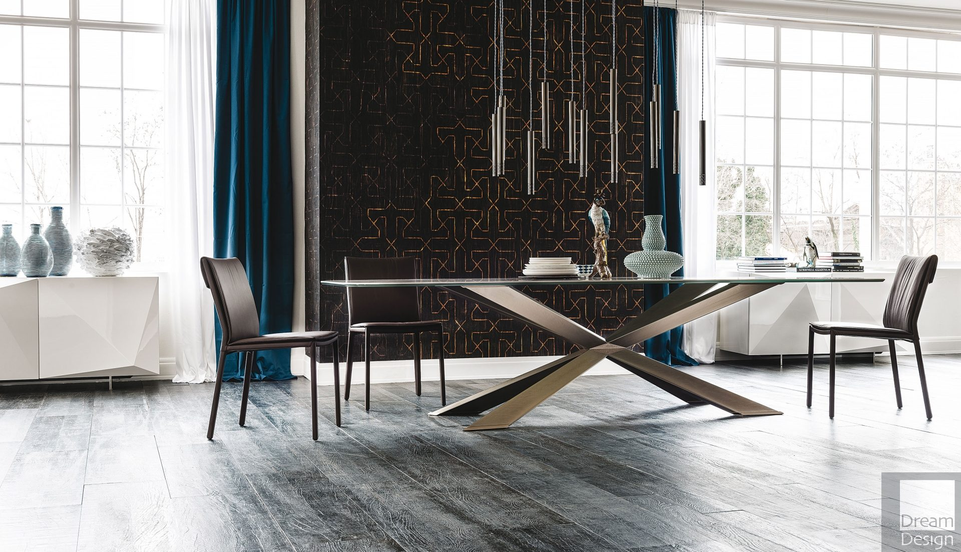 Cattelan Italia Spyder Keramik Dining Table
