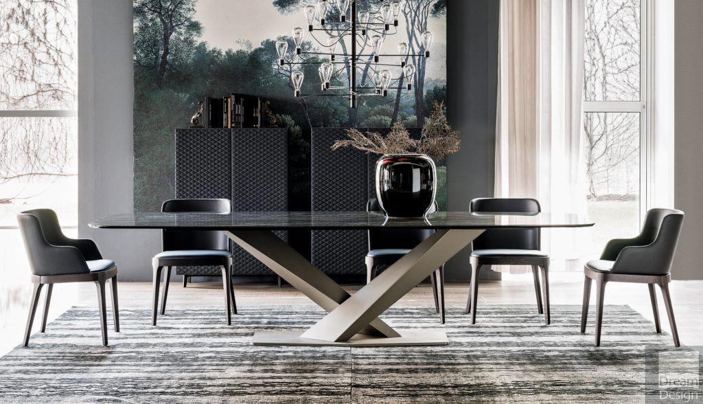Cattelan Italia Stratos Keramik Table By Studio Kronos
