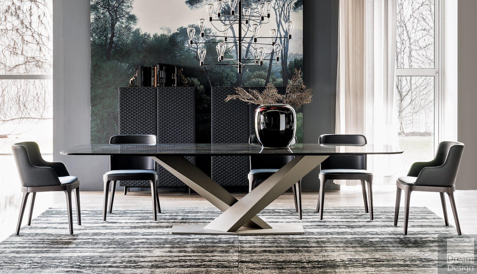 Cattelan Italia Stratos Kermik Dining Table