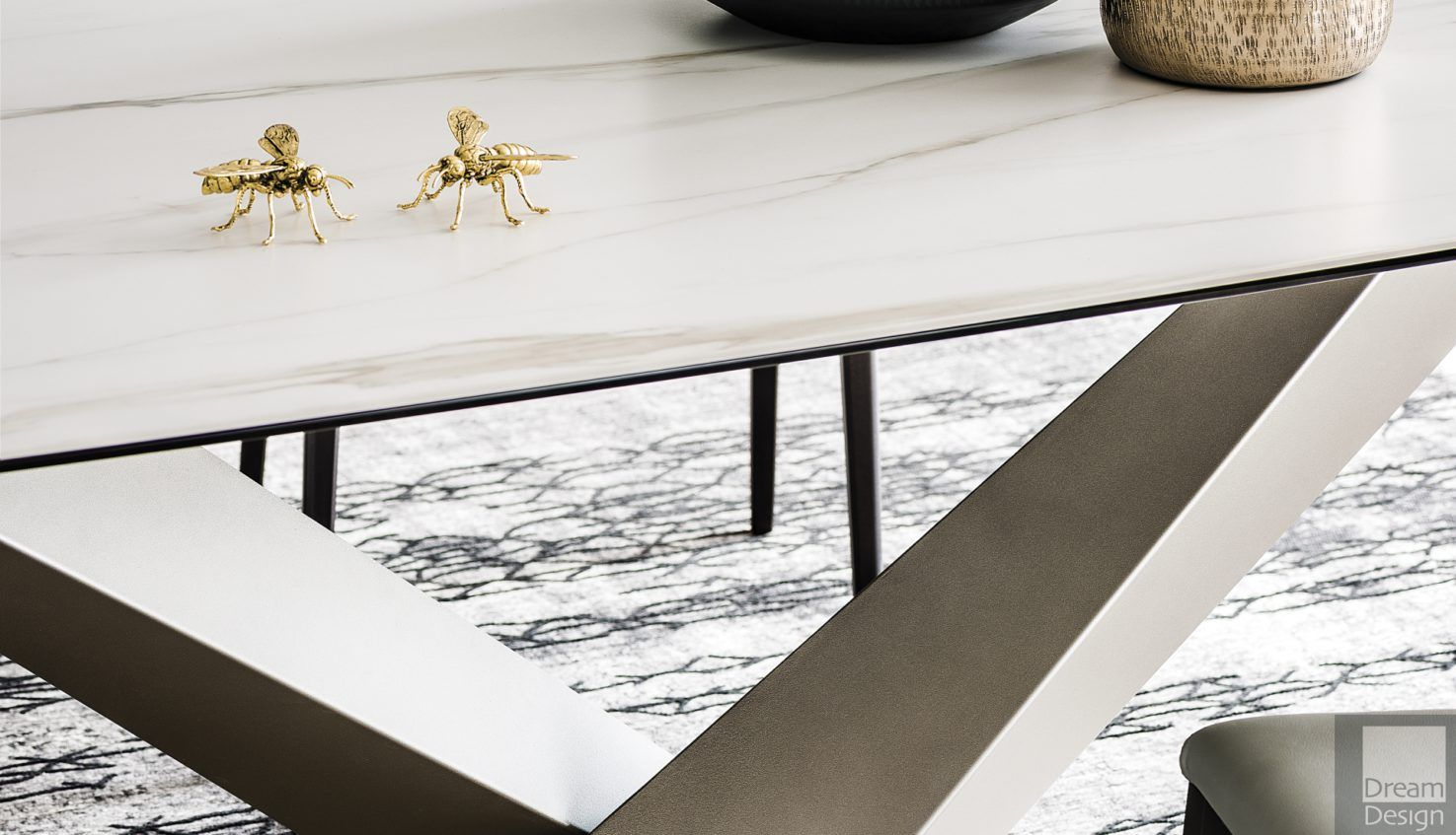 Cattelan Italia Stratos Kermik Dining Table