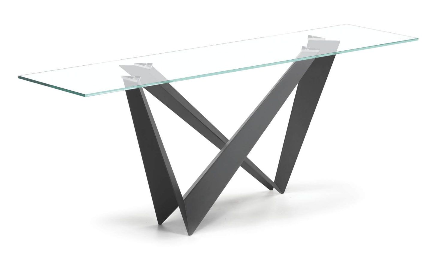 Cattelan Italia Westin Glass Console Table