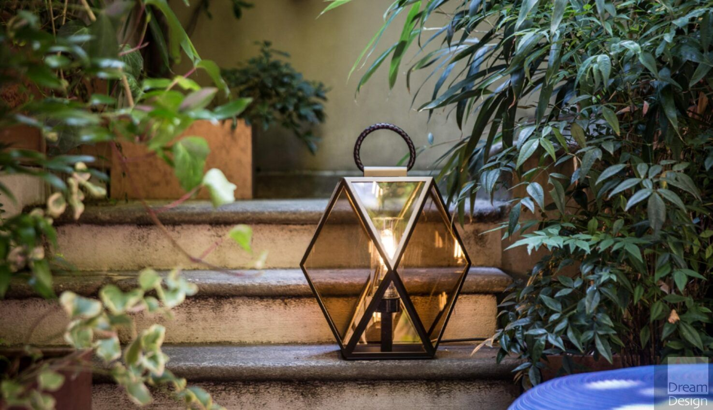 Contardi Muse Floor Lantern Outdoor