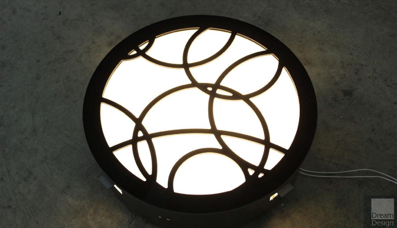 Contardi Recessed PL Round Light