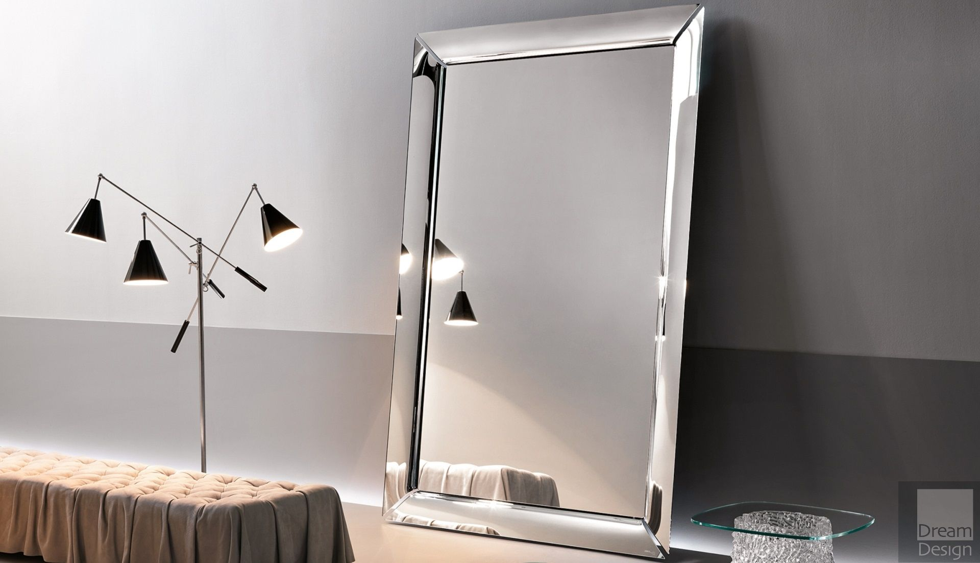 Fiam caadre mirror by philippe starck everything but for Mirror please