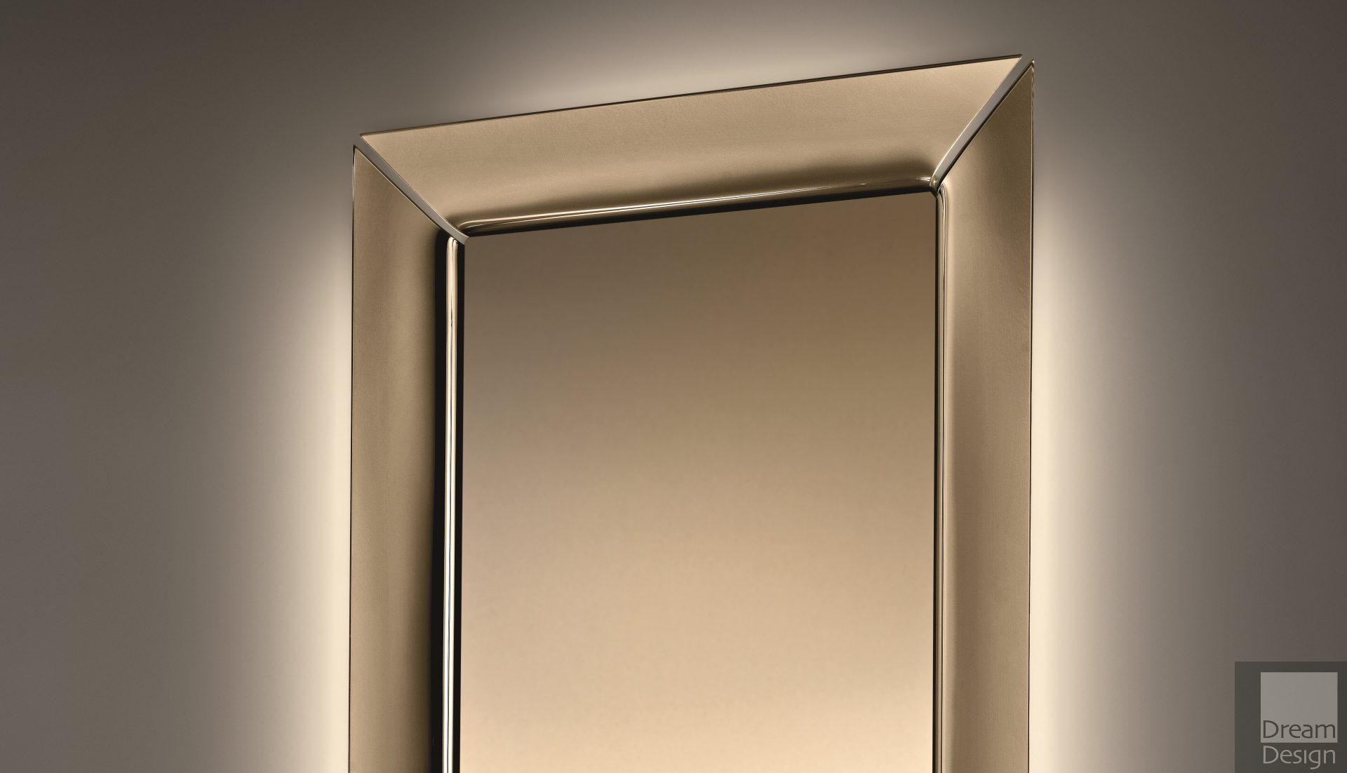 Fiam Caadre Mirror (Bronze Edition)