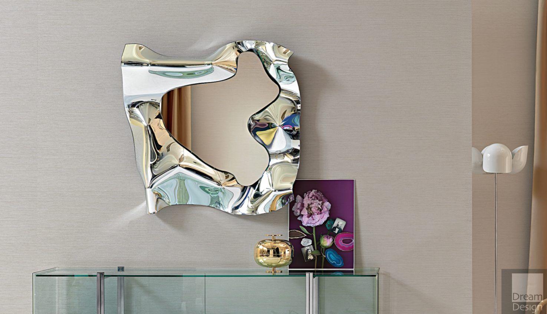 Fiam Christine Square Mirror