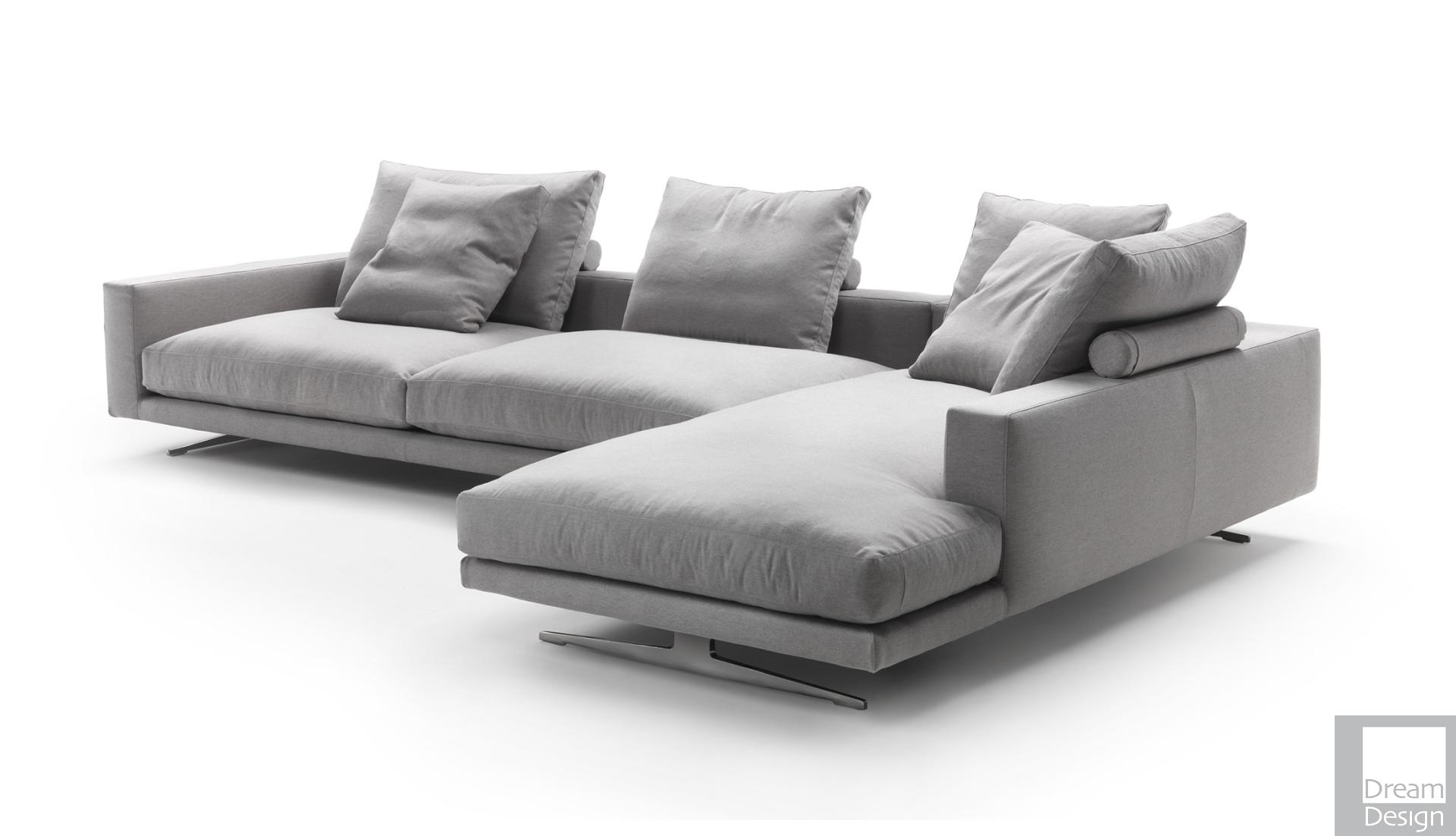 Flexform Campiello Corner Sofa By Antonio Citterio