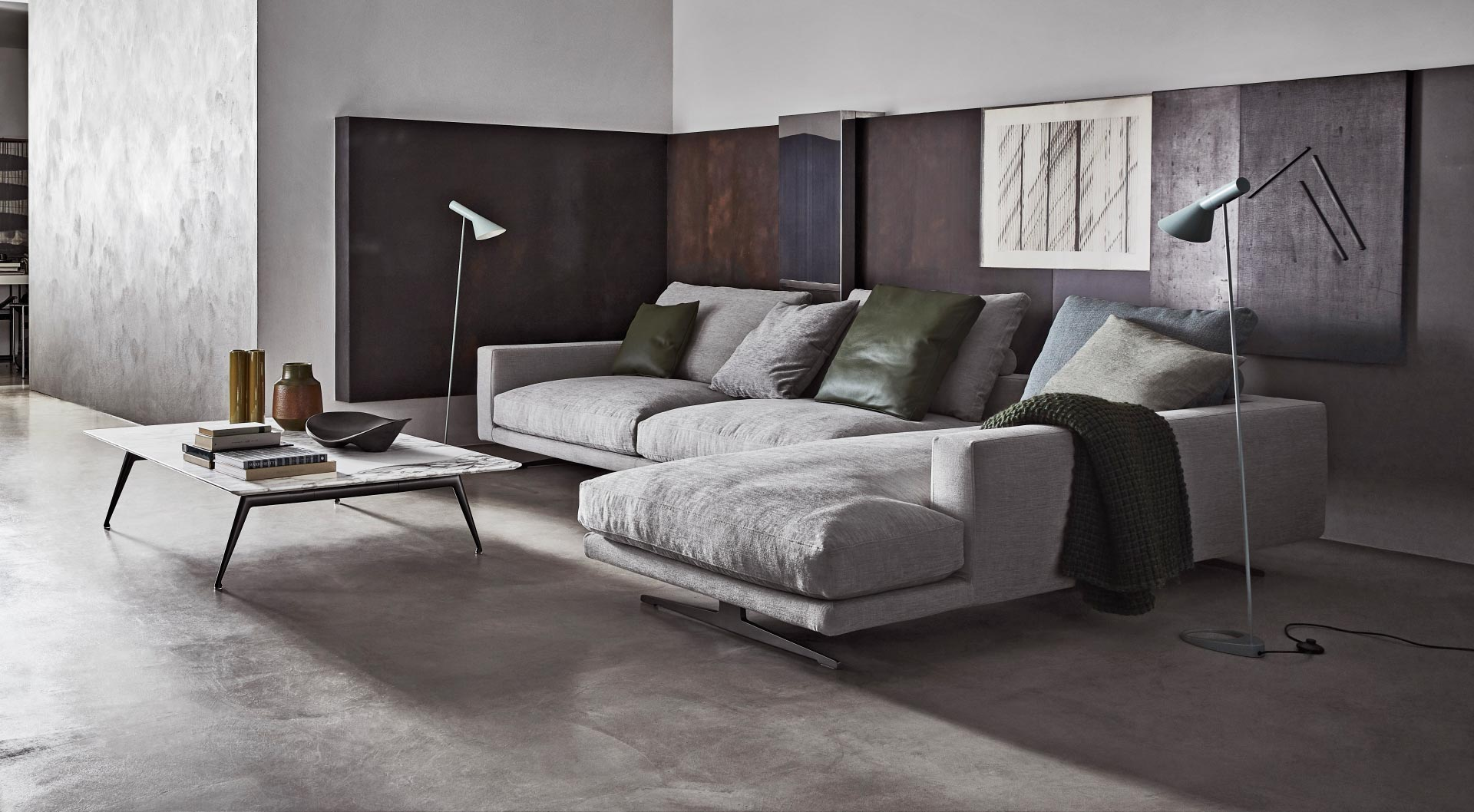 Flexform Brand Category Image - Flexform Campiello Modular Sofa