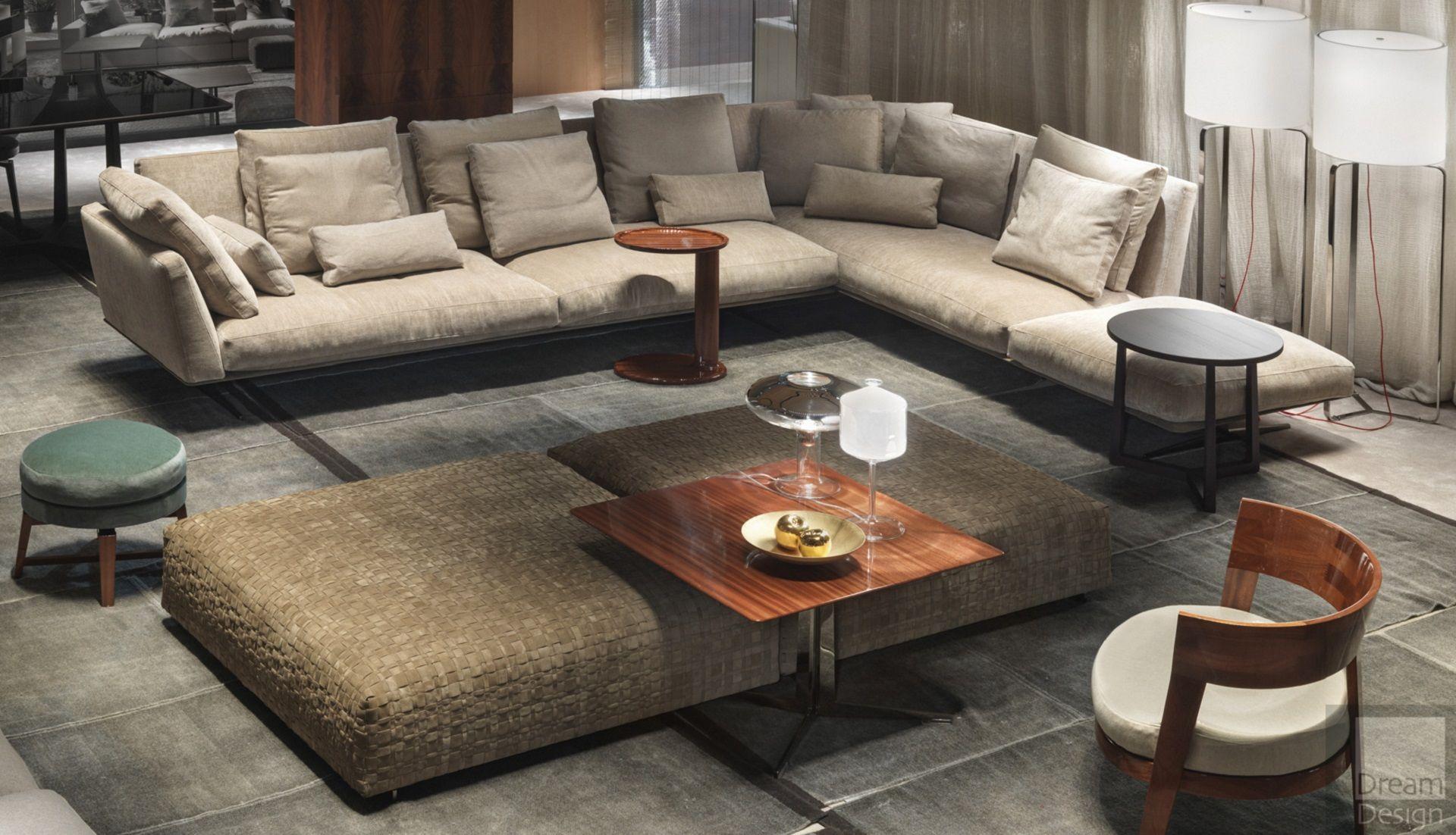 Flexform Evergreen Sofa by Antonio Citterio Everything But Ordinary