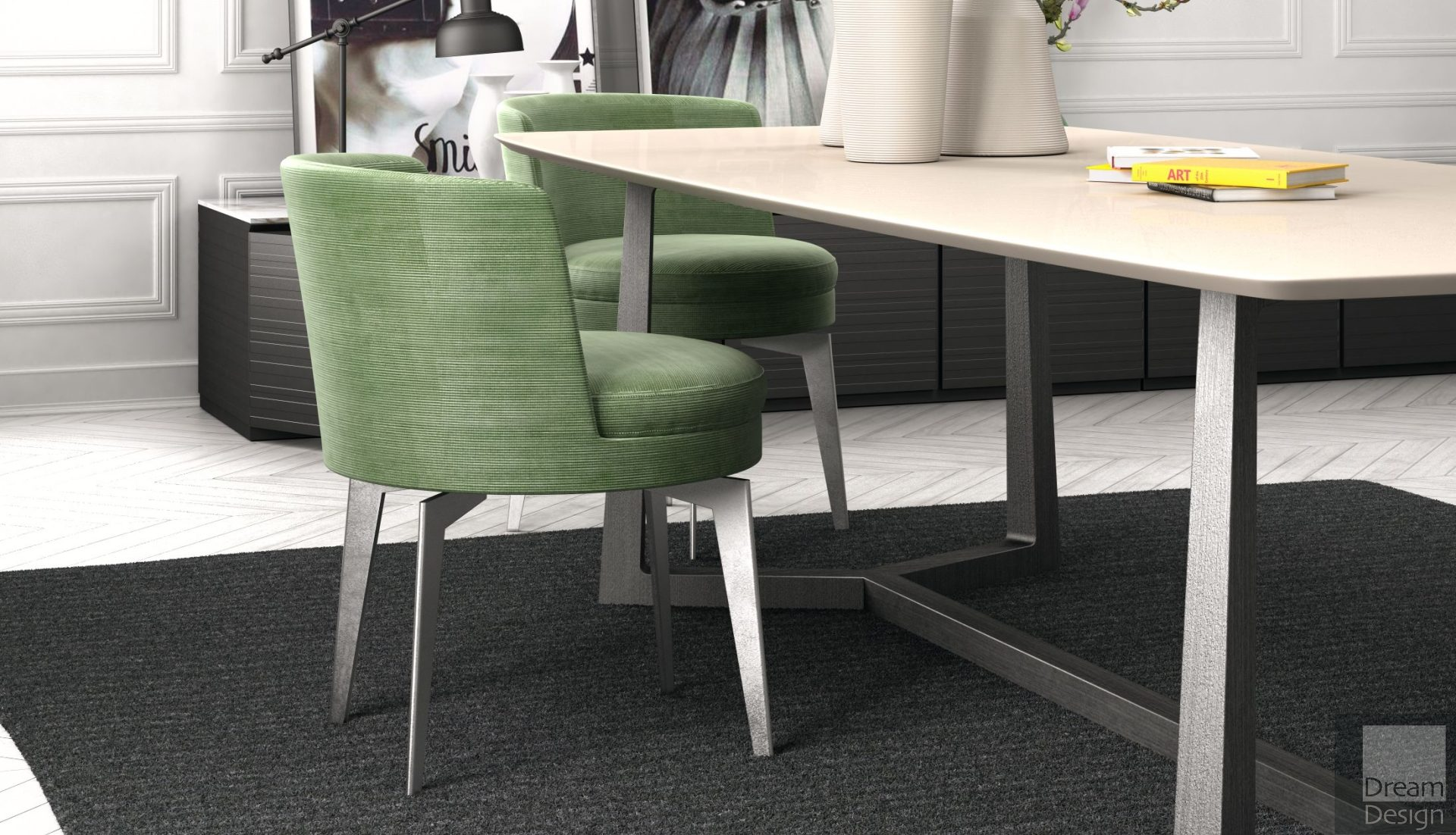 Flexform Feel Good Dining Chair