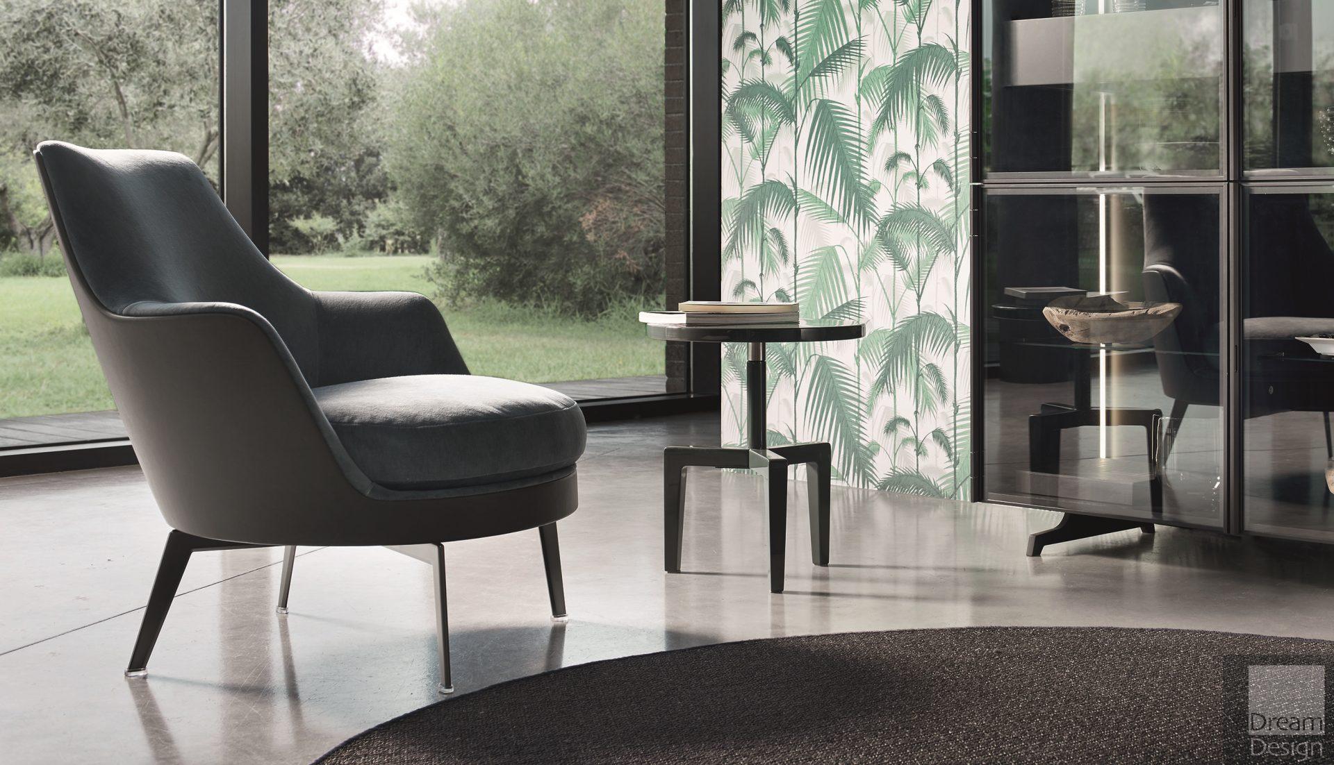 Flexform Guscio Armchair