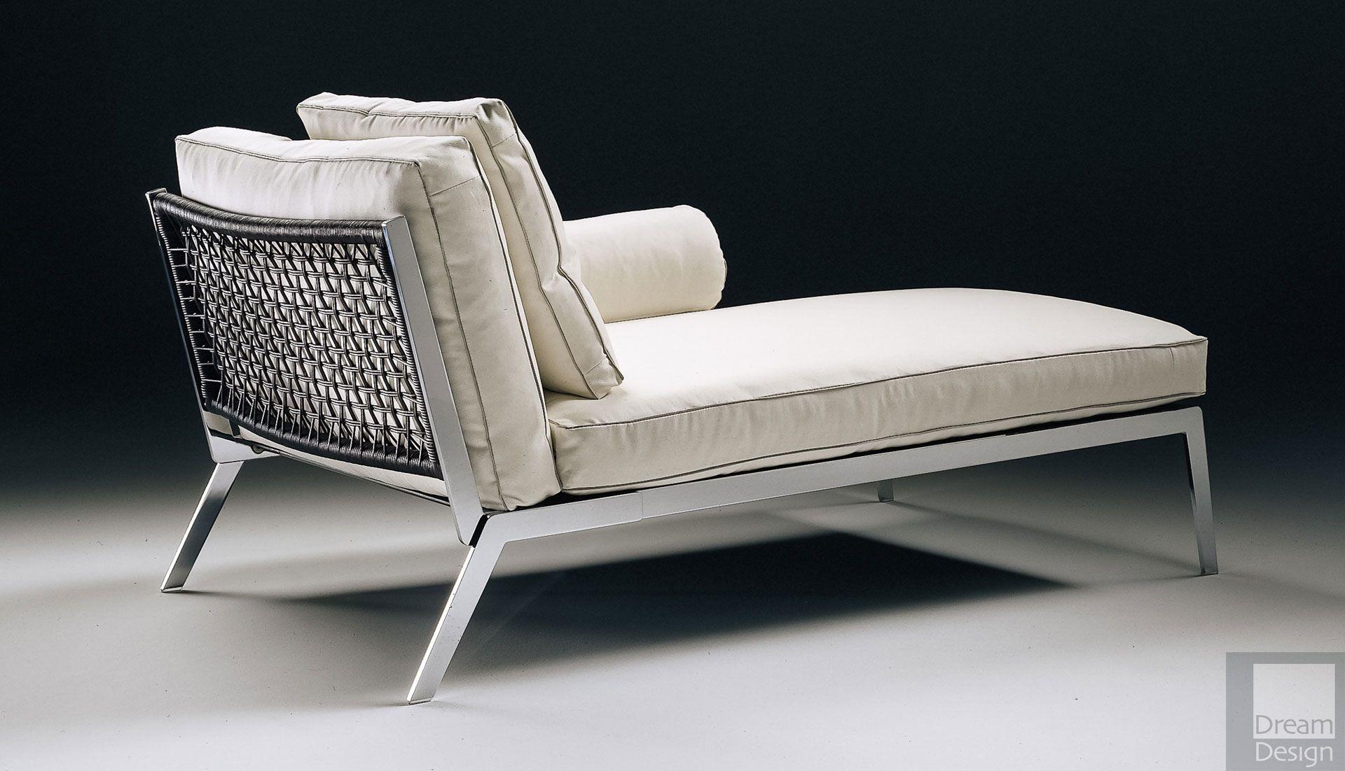 Flexform happy chaise longue ebo for Chaise longue flexform