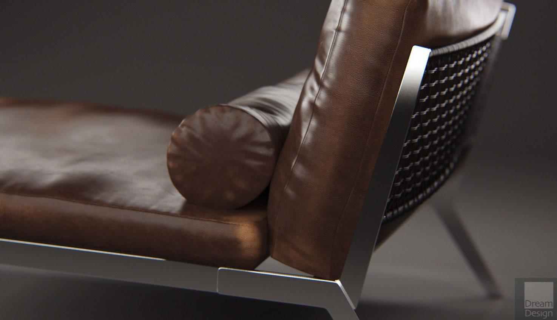Flexform Happy Chaise Longue