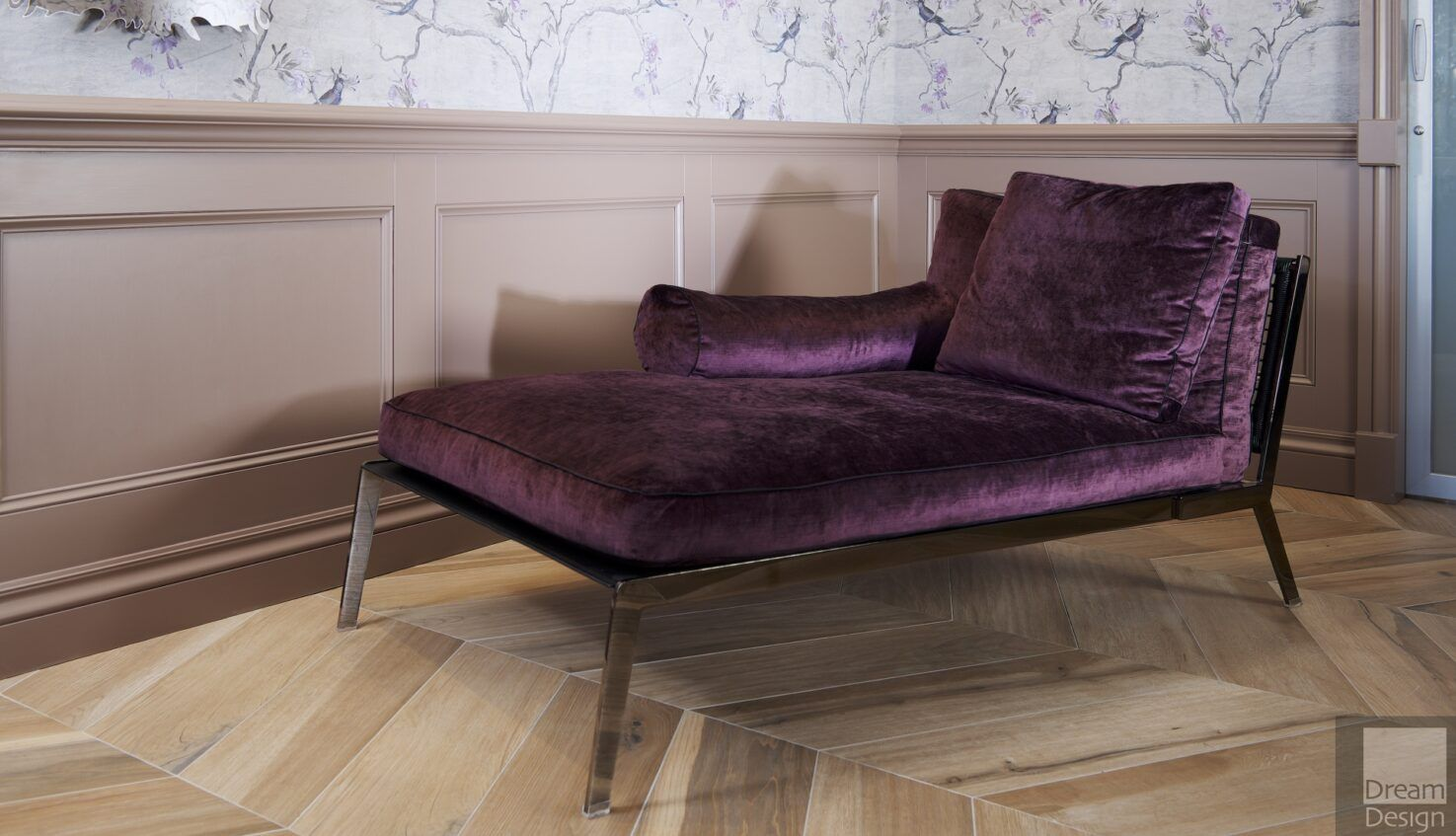 Flexform Happy Chaise Longue Ex-Display