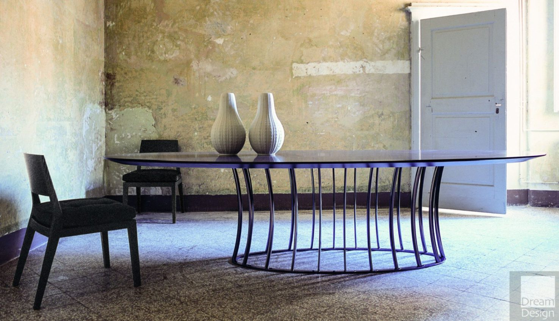 Flexform Mood Arthur Oval Table