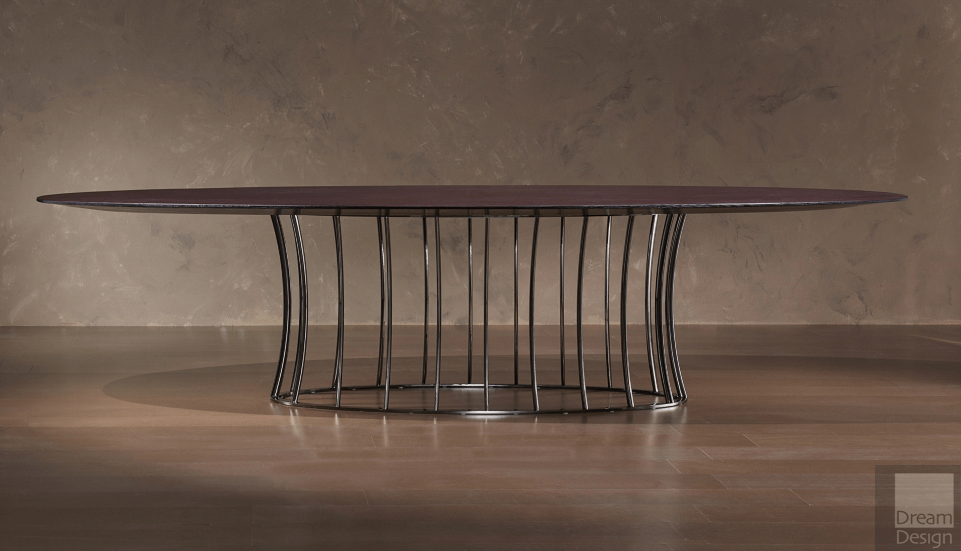 Flexform Mood Arthur Oval Table