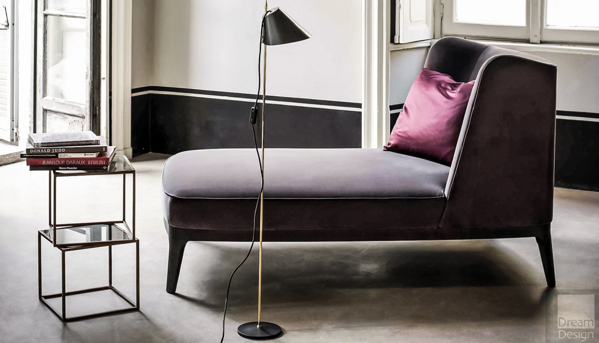 Flexform Mood Dragonfly Chaise Longue - Everything But Ordinary