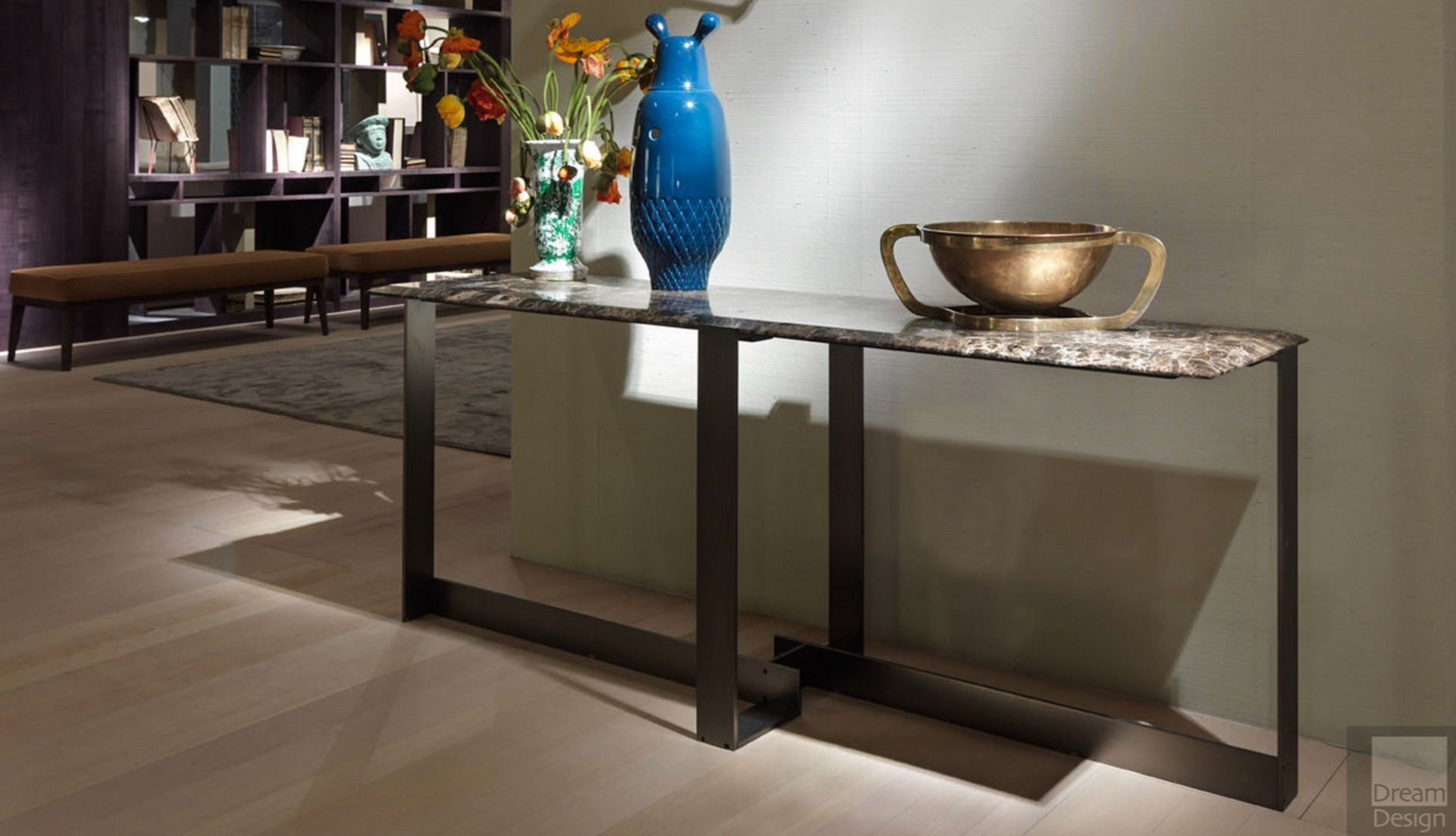 Flexform Mood Jacques Console Table Everything But Ordinary
