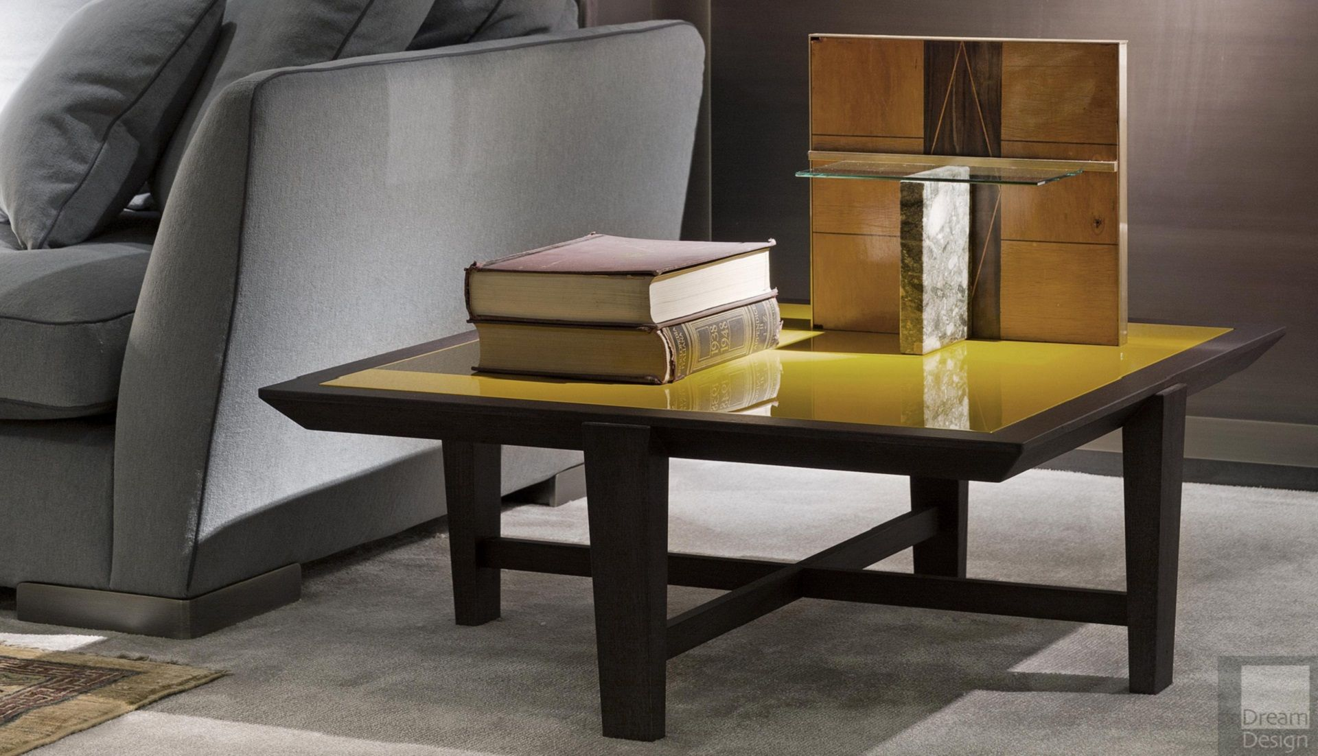 Flexform Mood Elliot Square Coffee Table Everything But Ordinary