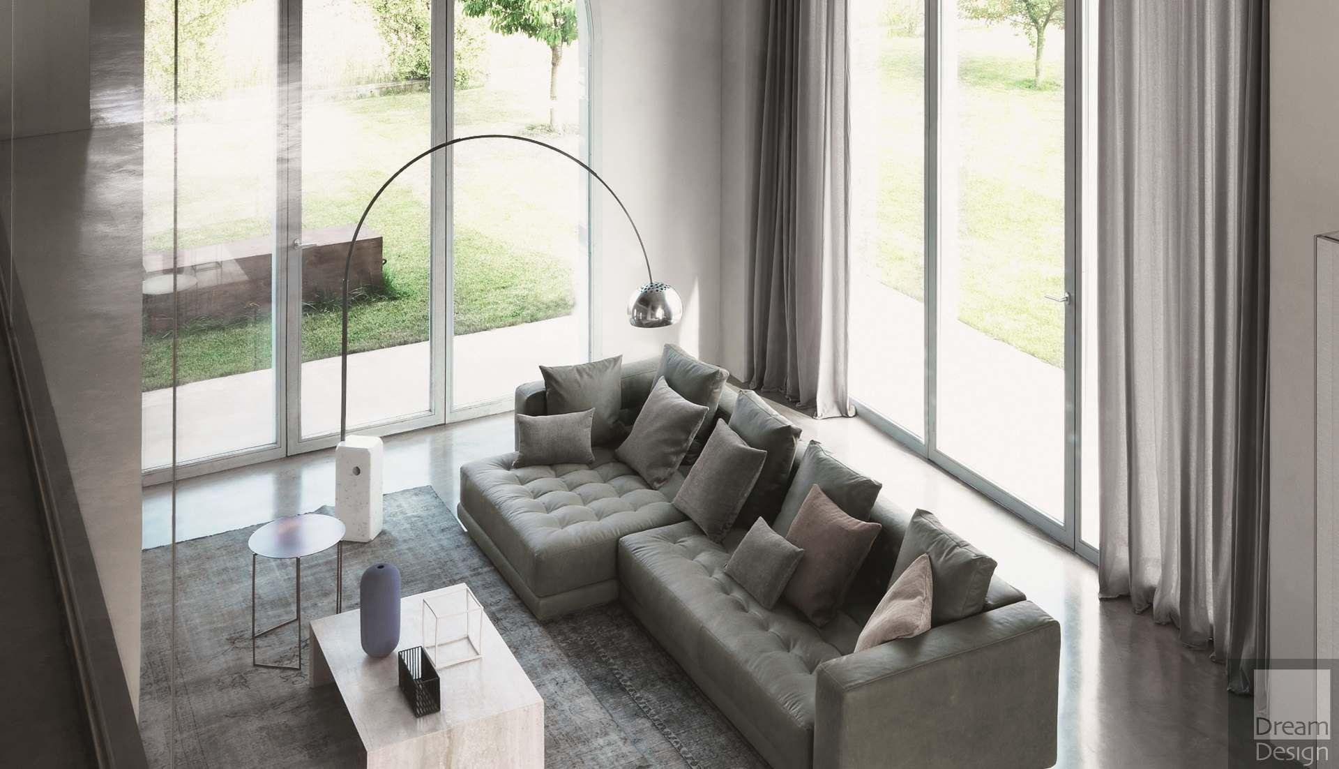 Flos arco floor lamp by achille pier giacomo castiglioni for Arco castiglioni