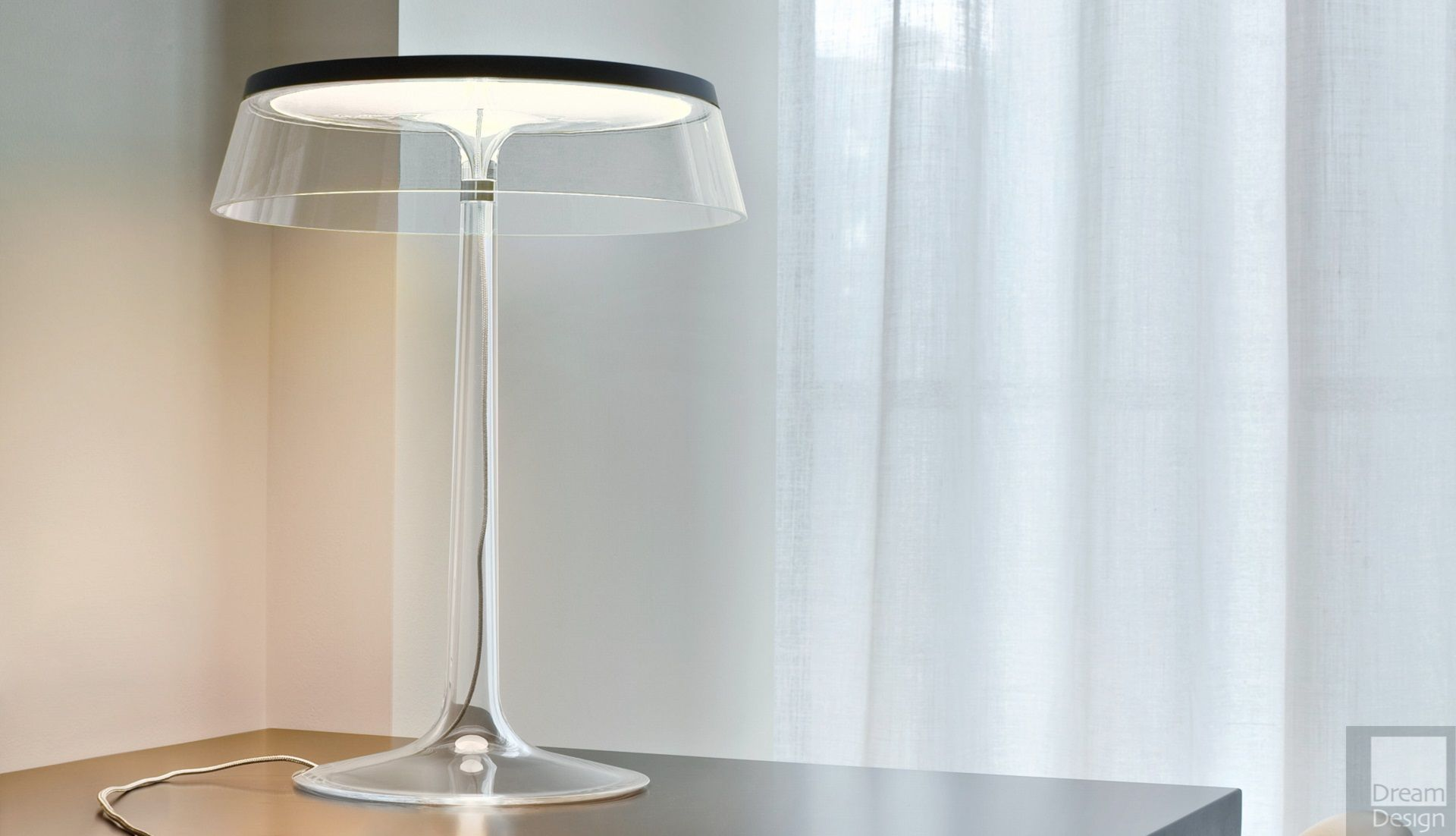 Flos bon jour table lamp by philippe starck everything for Flos bon jour