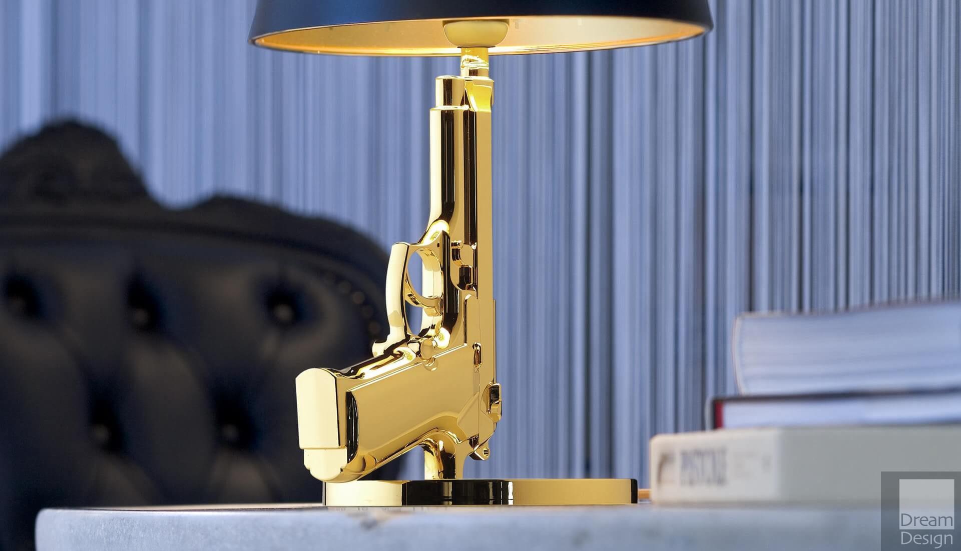 Flos Bedside Gun Table Lamp