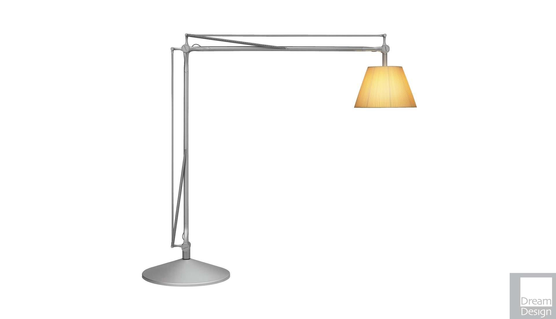 Flos Superarchimoon Floor Lamp designed by Philippe Starck